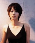 Asian sexy short hairstyle for women with long bangs.PNG