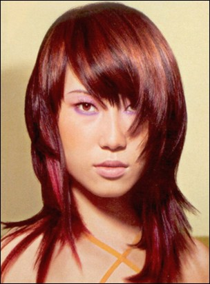 haircuts for long hair with fringe. Liz McClarnon#39;s. Fashion Asian