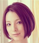 Modern bob haircut for Asian women