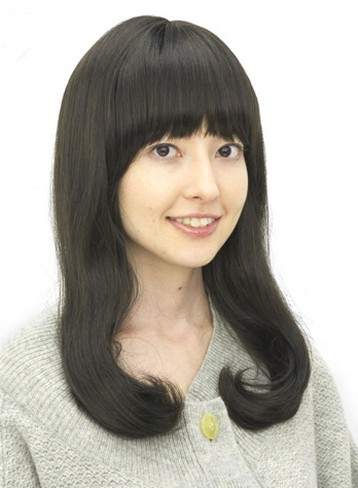 Along with accomplishing different. Straight long Japanese women hairstyle