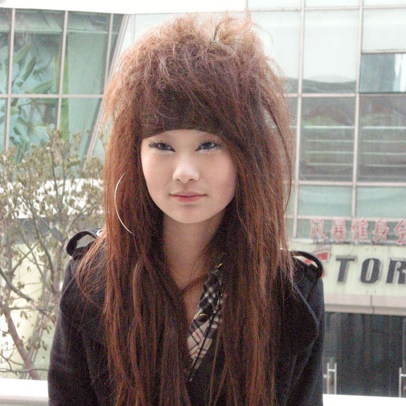 style asian hair cool asian hairstyle with punkish style 4244