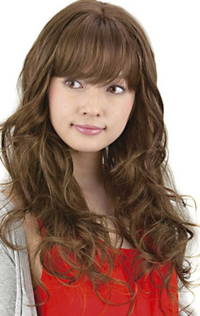 Curly Hairstyle For Asian Women