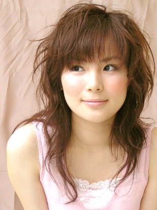 asian hairstyle pictures. japanese hair style.jpg photo
