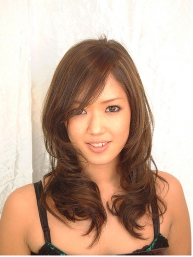 Layered Asian Hairstyle