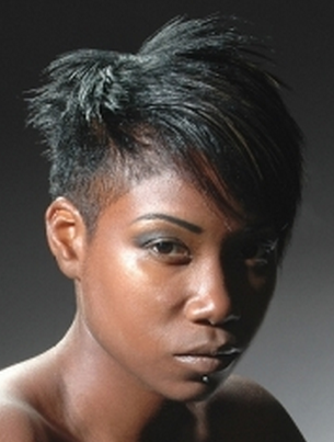 razor cut hairstyles for women. Black women razor cut