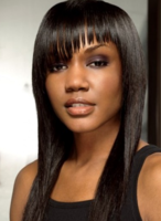 Straight black women hairstyle with long bangs with layers.PNG