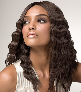 Wavy Black Women Hairstyle Photos Png