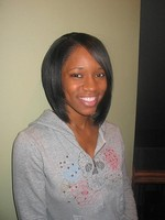 black fashion hairstyle with long side bangs.jpg