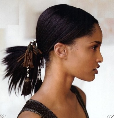 pictures below for more inspiration on cute black hairstyles for prom.