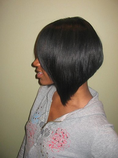 black trendy bob hairstyle.jpg picture