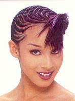 Unique black women hairstyle