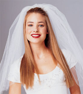Straight Hair, Down with Veil??? - Wedding Forum | You & Your Wedding