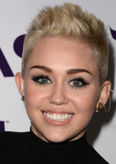 spike hair style 2013 miley cyrus pictures with hairstyle 2013