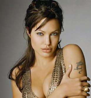 Angelina Jolie with half up half down hairstyle.jpg