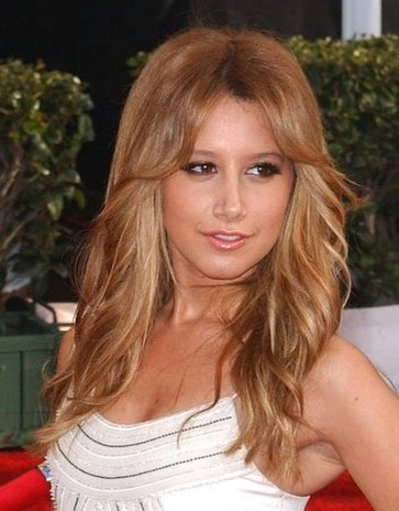 Sexy Hair on Ashley Tisdale With Long Sexy Hair With Long Side Bangs Jpg Picture