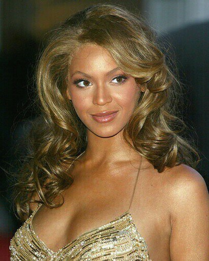 Beyonce Big Curls