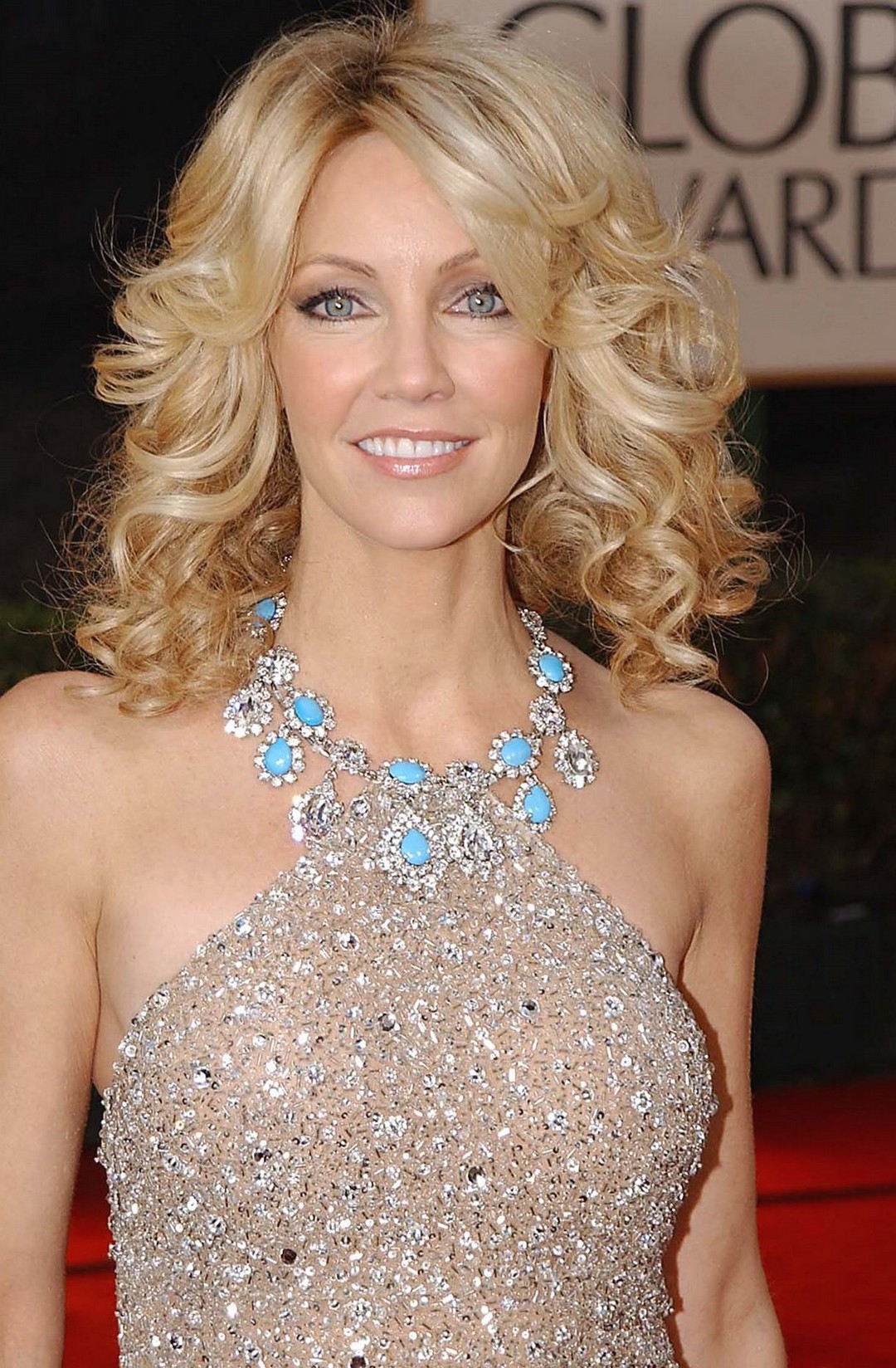 heather locklear curly hairstyle with medium long length