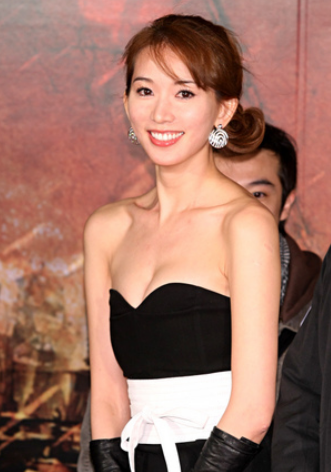 Image Of Lin Zhi Ling With Lower Updo With Long Bang Png