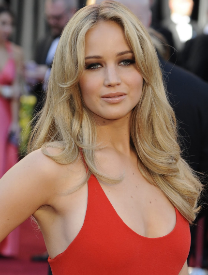 Jennifer Lawrence Red Carpet Pictures In Her Hot Red Dress