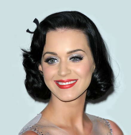 Strange Katy Perry Picture With Her Short Hairstyle 50S Hairstyle Short Hairstyles For Black Women Fulllsitofus