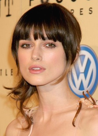 Celebrities  Bangs on Keira Knightley Cut Updo Hairstyle With Bangs Jpg