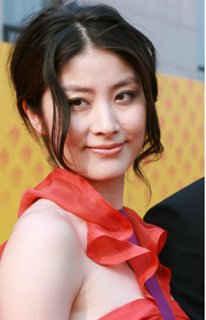 Kelly Chen Hot Picture With Elegant Updo With Curly Side Bangs Png