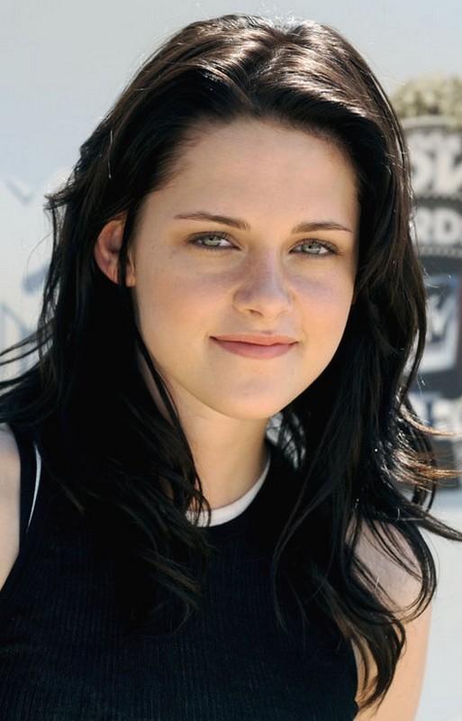 Kristen Stewart Black Hair