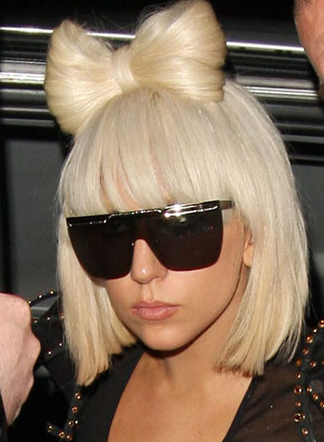 lady gaga short hair