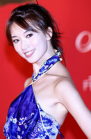 Lin Zhi Ling with simple updo with long bang.PNG