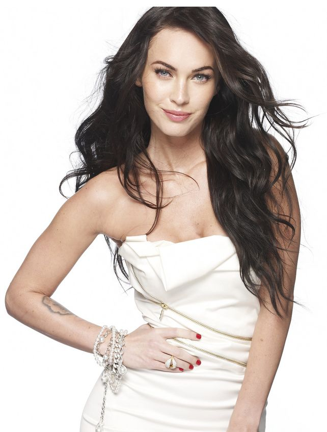 Megan Fox Curly Hair How To. of megan curly hairstyle