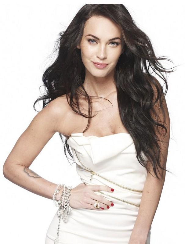 megan fox hairstyles with bangs. Megan Fox