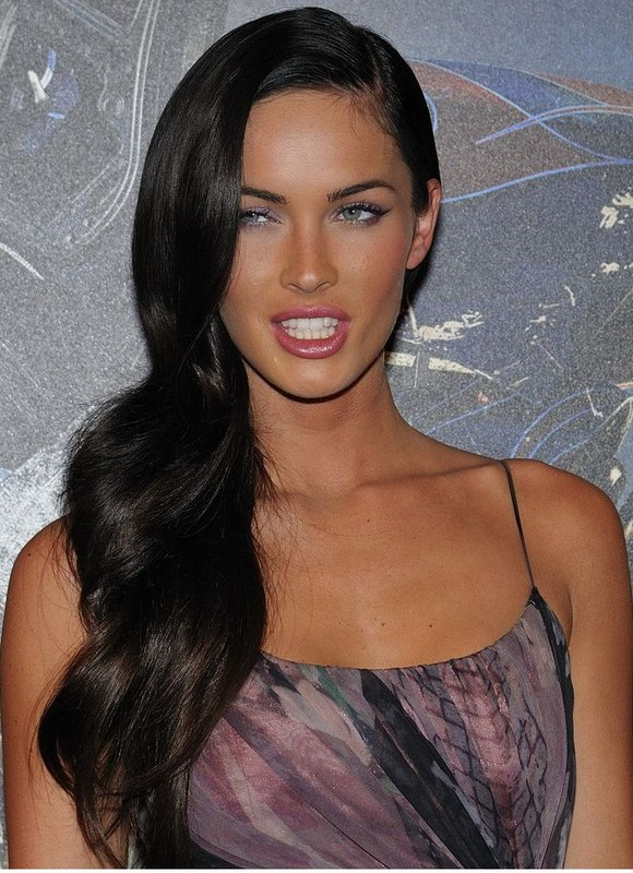 megan fox hair extensions. megan fox hair. Megan Fox