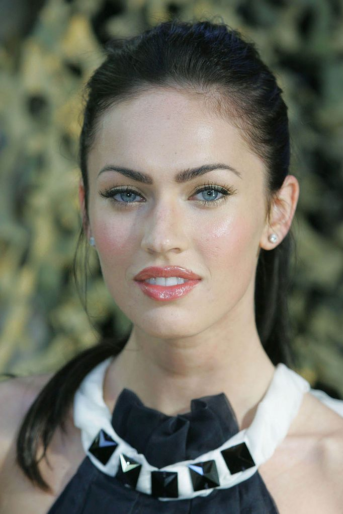 Megan Fox Picture With Her Updo Hairstyle
