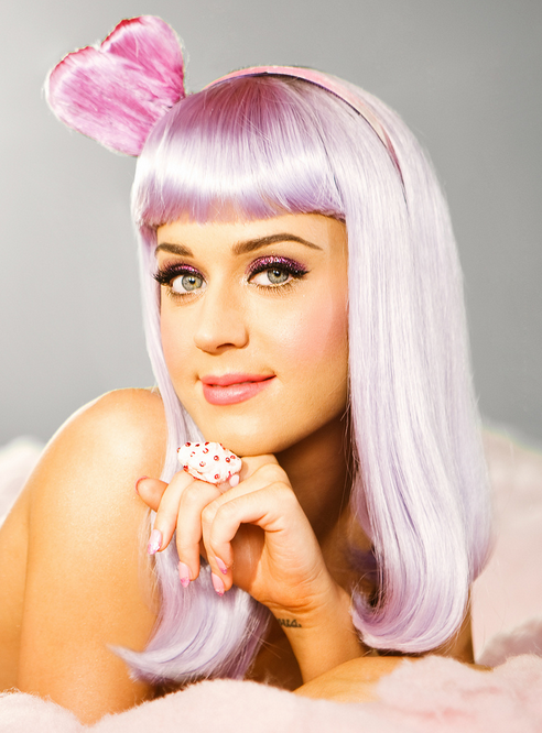 Perry Videos Katy Perry Music Videoes In Her Cute Pink Wig