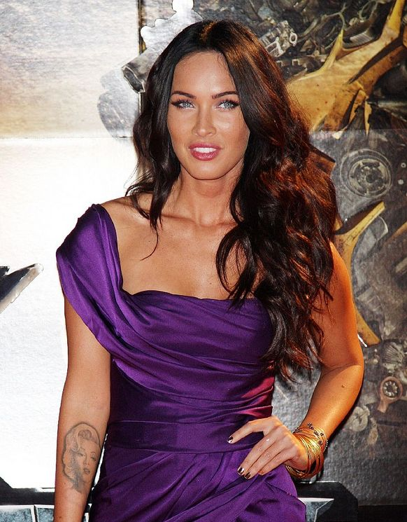 megan fox hairstyles. Picture of Megan Fox