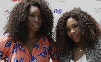 Sisters tennis players Serena Williams and Venus Williams