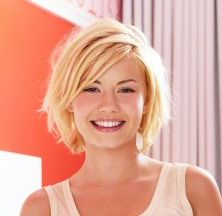 Short Bob Hairstyles with Side Bangs