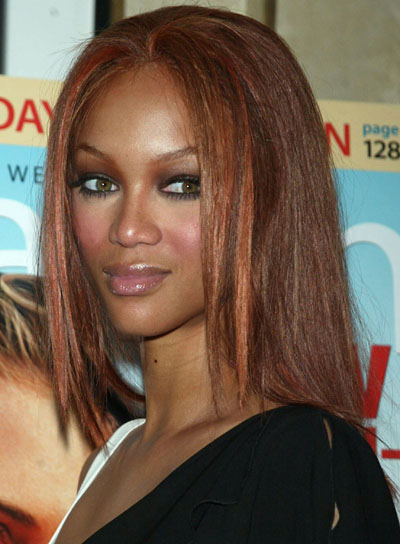 tyra banks hairstyles pictures. Tyra Banks photo