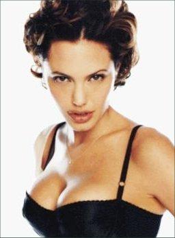 Enjoyable Angelina Jolie Voight With Short Hair In Big Roll Curls Short Hairstyles For Black Women Fulllsitofus