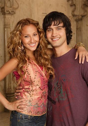 Curly Hair Adrienne Bailon And Michael Steger