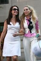 Sara Jessica Parker and Kristin Davis
