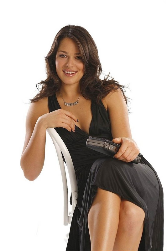 sexy Ana Ivanovic with her wavy long hairstyle