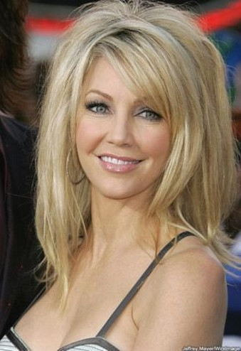 Sexy Heather Locklear With Layered Haircut