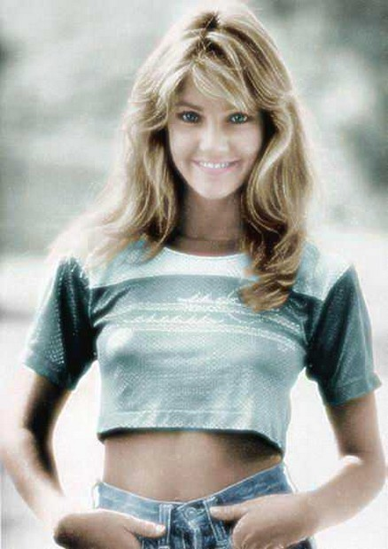 Young Heather Locklear With Long Wavy Haircut