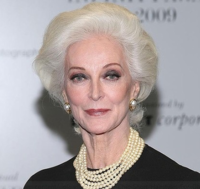 Mature swept back with short haircut with a elegant look