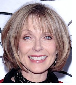 Modern Older Woman Hairstyle With Bob Style With Layers