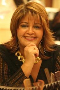 Long Spiky Haircut With Bangs Hairstyle For Hispanic Women