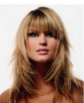 Long full layered woman hairstyle with long bangs.PNG
