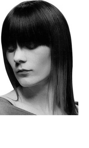 straight hairstyles for long hair with bangs. Long Hair With Straight Bangs.