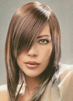 Layered Hairstyles with Bangs for Medium Hair